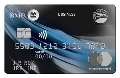 BMO AIR MILES®† Business® Mastercard®*