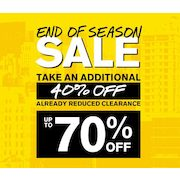 Express End of Season Sale: Additional 40% off Already Reduced Merchandise (Limited Time!)