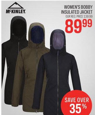 Chek Bobby Mckinley Jacket Insulated Women's Sport BTwFnxRqR