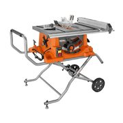 "Rigid 15 AMP 10"" Portable Table Saw with Folding/Rolling Stand - $399.00 ($200.00 off)"