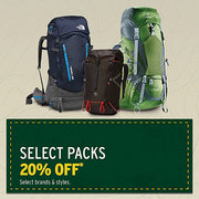 20% Off Select Packs