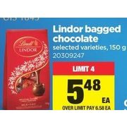 Lindt Lindor Bagged Chocolate  - $5.48