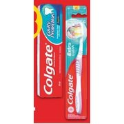 Colgate or Crest Toothpaste or Colgate or Oral-B Toothbrush - $0.88