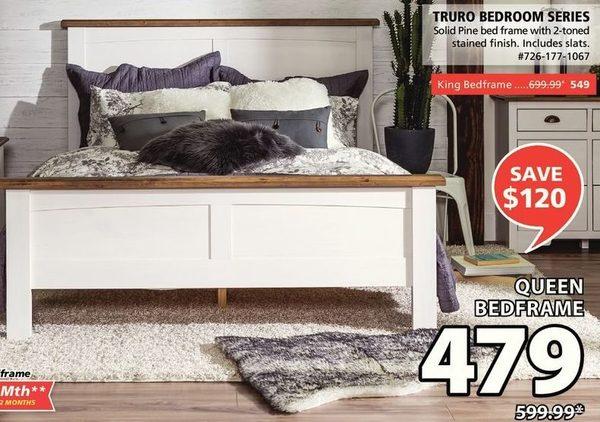 JYSK: Truro Bedroom Series - Queen Bedframe - RedFlagDeals.com