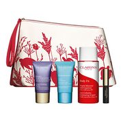 Hudson's Bay: Get a FREE 5-Piece Clarins Gift Set with Purchase of 2 Clarins Products + FREE Shipping On Beauty Orders!
