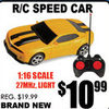 R/C Speed Car - $10.99