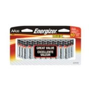 Energizer Max Aa Batteries, 30-pk - $13.99 ($6.00 Off)