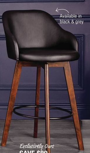 Home Outfitters Distinctly Home Twist Barstool Redflagdeals Com