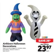 Airblown Halloween Decorations - $23.97 (20% Off)