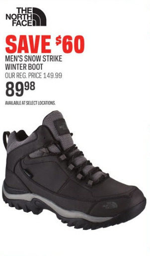 Snow Strike Winter Boot - RedFlagDeals