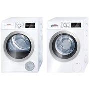 Bosch 2.2 Cu. Ft. High Efficiency Front Load Washer & 4.0 Cu. Ft. Electric Dryer - $2899.98