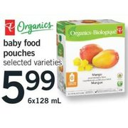 Baby Food Pouches - $5.99