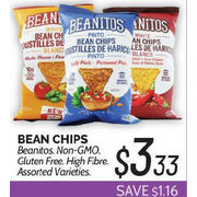 Beanitos Bean Chips - $3.33 ($1.16 off)