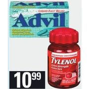 Loblaws: Advil Liqui-Gels, Robax or Robaxacet Tablets