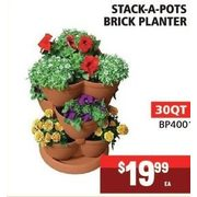 Brick Planter 30 QT - $19.99