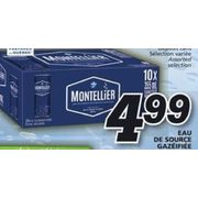 Montellier Carbonated Spring Water  - $4.99
