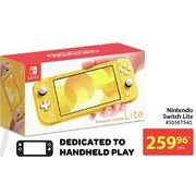 Nintendo Switch Lite  - $256.96