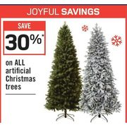 All Artificial Christmas Trees - 30% off