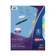 Avery Durable Plastic Write-On Dividers - 8-Tab - $3.74 (25% off)