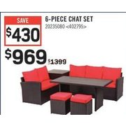 6-Piece Chat Set - $969.00 ($430.00 off)