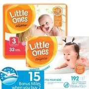 Little Ones by Compliments Jumbo Diapers or Wipes Refill - $7.99
