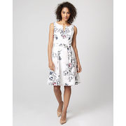 Floral Print Stretch Twill Fit & Flare Dress - $69.97 ($69.98 Off)