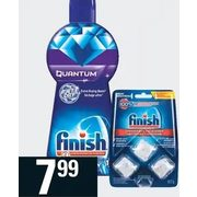 Finish Dishwasher Cleaner Or Jet-Dry Rinse Agent - $7.99