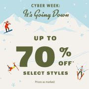 Fossil Cyber Week: Up to 70% off Select Styles