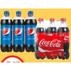 Coca-Cola or Pepsi Beverages - $2.45
